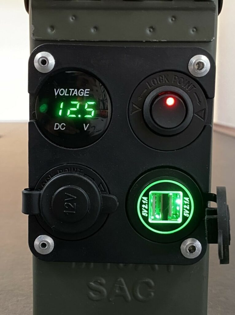 Solar Battery in an ammobox - Project 2021